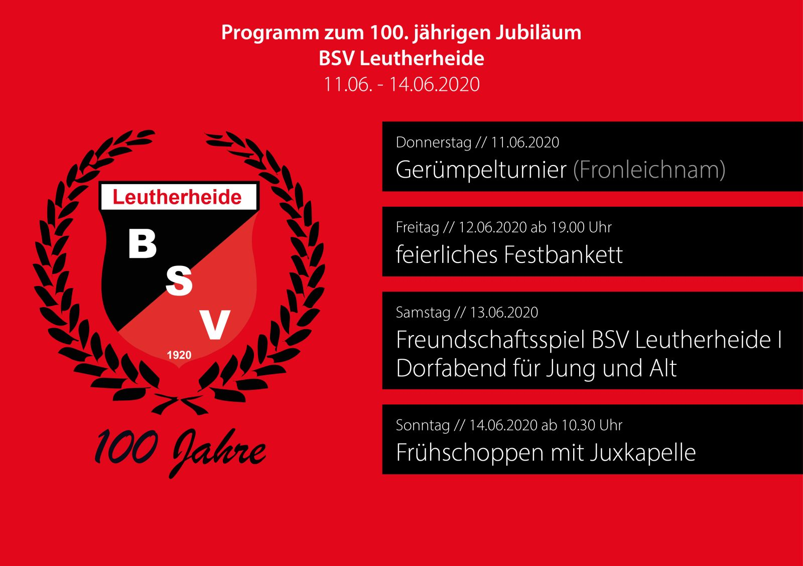 100 Jahre BSV Leutherheide